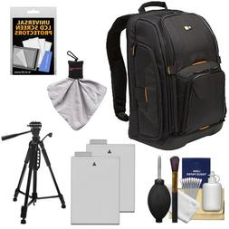 Case Logic Digital SLR Camera Backpack Case   +  LP-E8 Batte