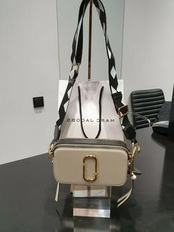 Marc Jacobs Snapshot Small Camera Bag Crossbody Cloud White