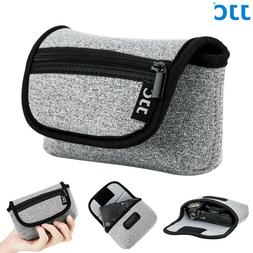 JJC Soft Neoprene Compact Camera Pouch Bag for Canon SX720 S