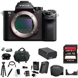 Sony Alpha a7SII Mirrorless Digital Camera  + Sony 64GB SD M