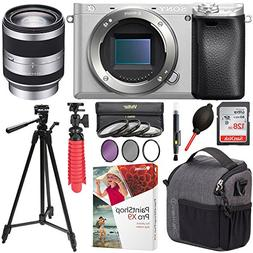 Sony ILCE-6300/S a6300 4K Mirrorless Camera Bundle includes