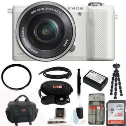 Sony Alpha Mirrorless Digital Camera with 16-50mm Lens + 32G