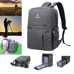 Travel Large Digital DSLR Camera Backpack Shoulder Bag Case