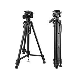 "61-Inch 61"" Tripod Lightweight Aluminum with Bag for Canon N"