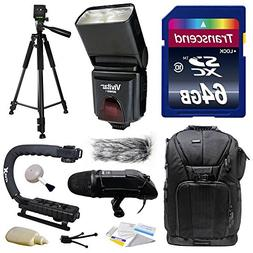 Ultimate Accessories Bundle Kit includes Transcend 64GB Clas