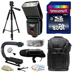 Ultimate Accessories Bundle Kit includes Transcend 16GB Clas