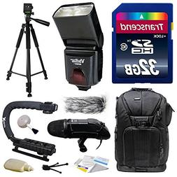 Ultimate Accessories Bundle Kit includes Transcend 32GB Clas
