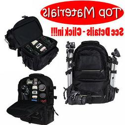 Universal DSLR SLR Camera Large Backpack Bag for Nikon Canon