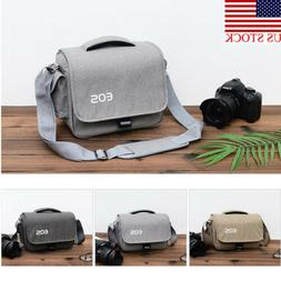 US DSLR SLR Camera Bag Shoulder Messenger Carry Insert Pouch
