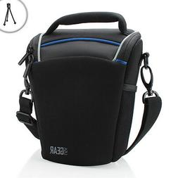 USA Gear Top Loading Digital SLR Camera Bag for Canon EOS Re