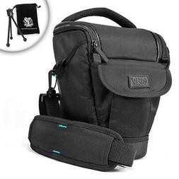 USA Gear Weather-Resistant Digital SLR Holster Camera Case B