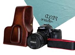PDXD-share Vintage Pu Leather Camera Case Bag Cover for Cano