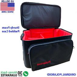 Polaroid Vintage Sturdy Foam Padded Camera Bag Case with Sho