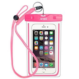 EOTW IPX8 Universal Waterproof Case for Smartphone Device to