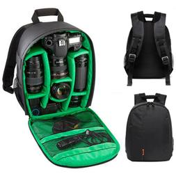 Waterproof DSLR Camera Video Backpack Shoulder Bag Case For