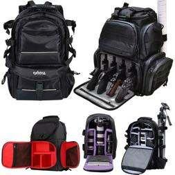 Waterproof Large Camera Backpack Shoulder Bag DSLR/SLR/TLR T