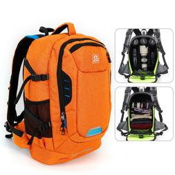 Waterproof Large Camera Backpack Travel Camcorder DSLR SLR L