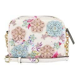 Nine West Women's   3D Floral Mini Nicolina Camera Crossbody