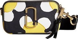 Marc Jacobs Women's Snapshot Daisy Camera Bag, Yellow Multi,